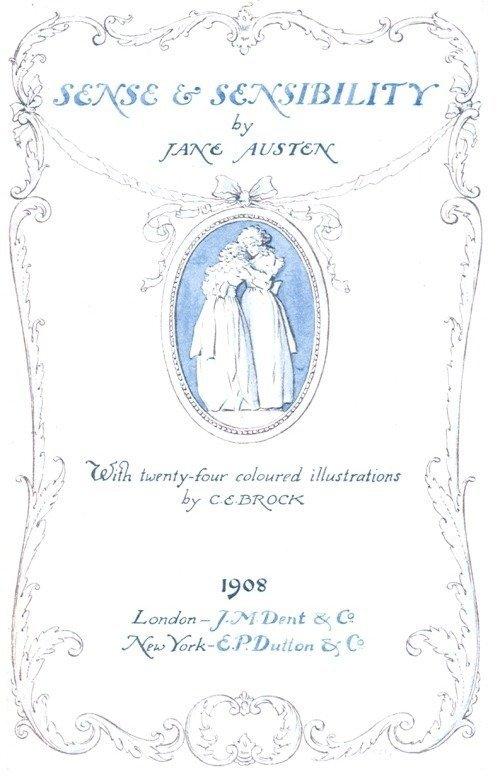 1908年英国画家C.E