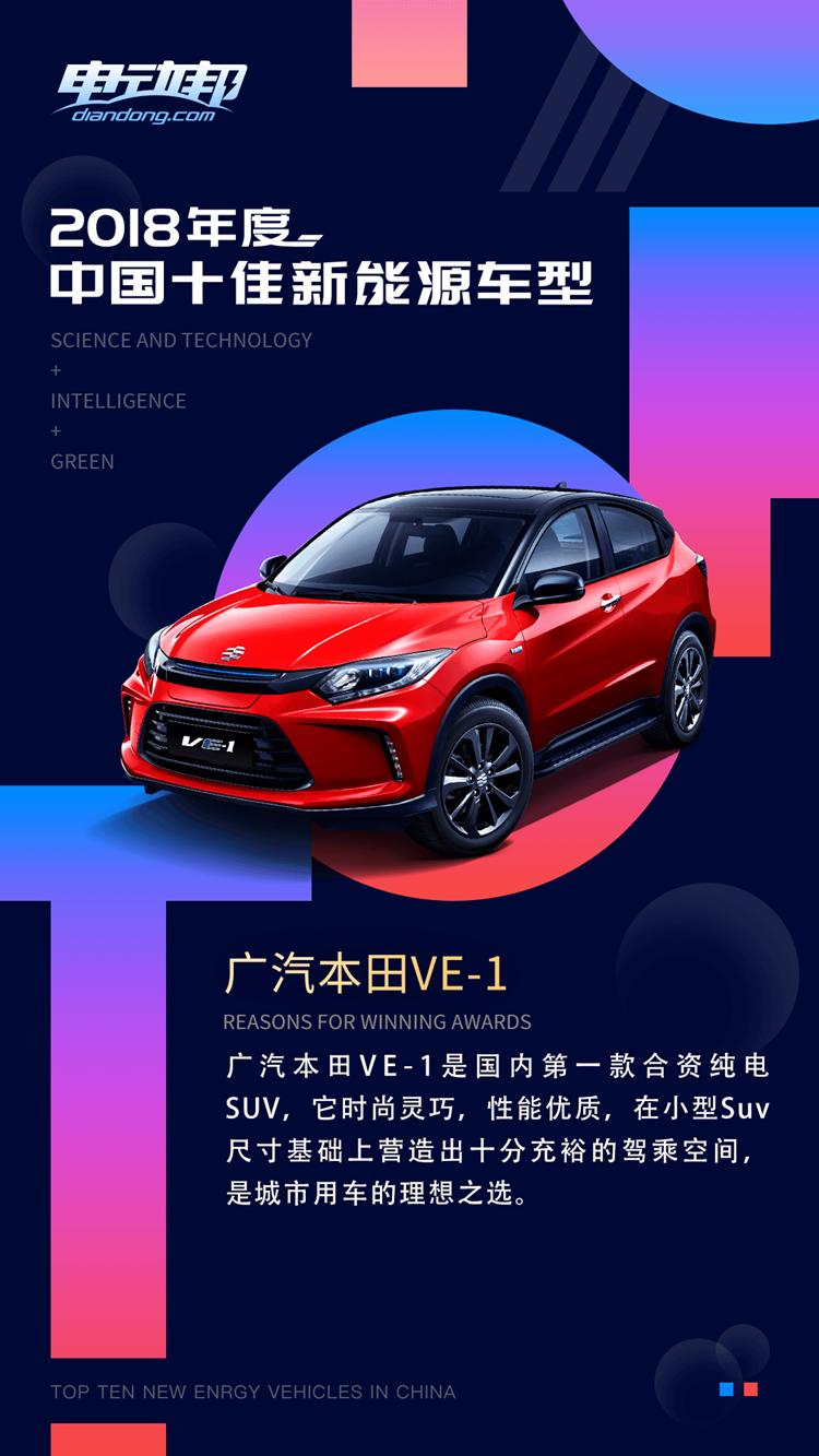 谁是消费者心目中最喜欢的车型?电动邦2018十佳新能源车型揭晓
