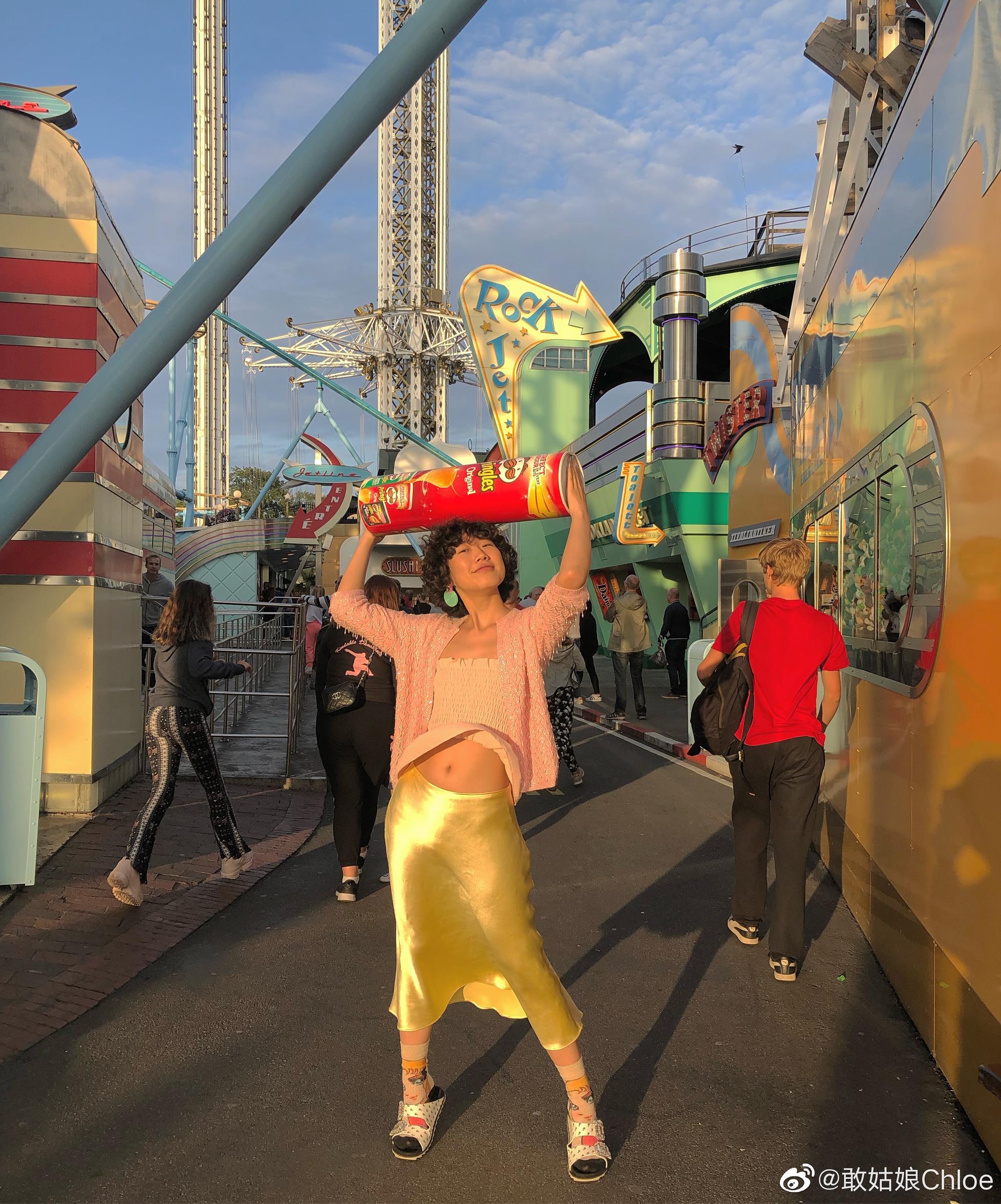 这次来斯德哥尔摩的游乐园终于赢来丰收的喜悦~!