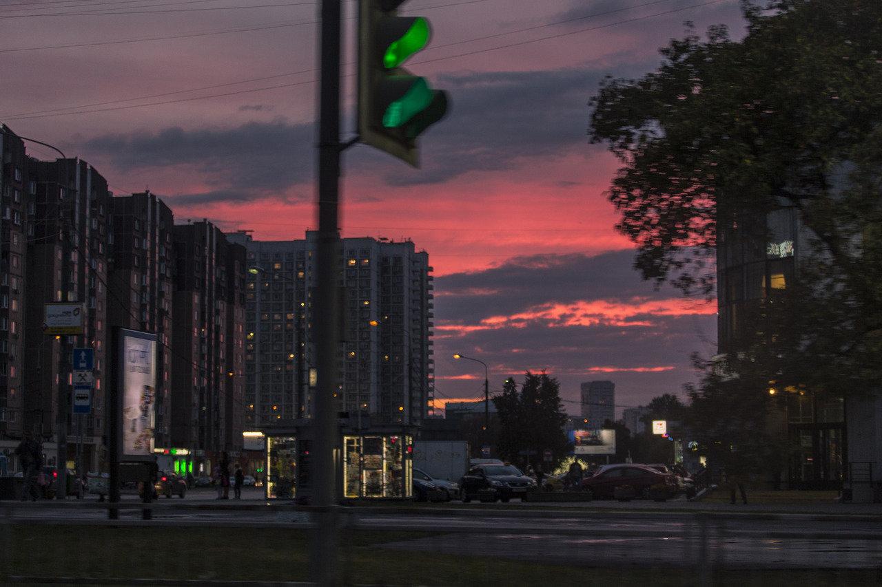 莫斯科的傍晚
