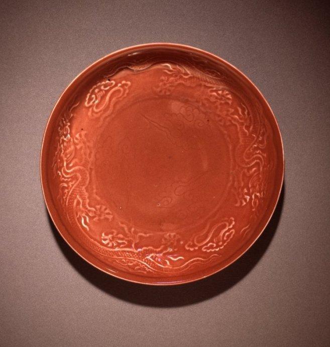 大英博物馆—元、明、清红釉瓷器