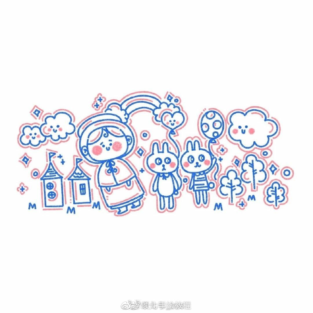 可爱的小简笔画 作者:七七_zoe