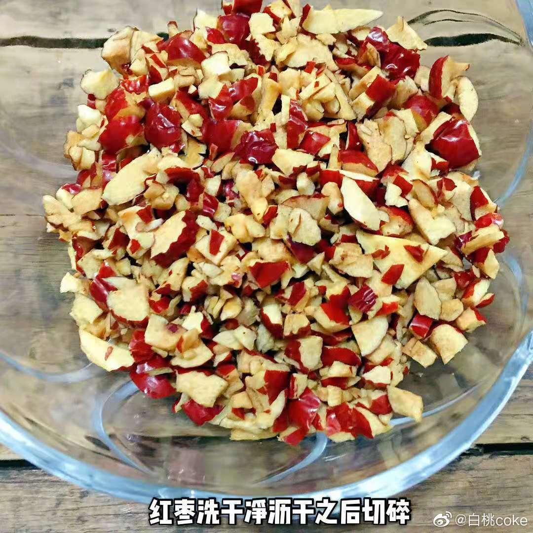 简易版红糖红枣面包~  (光波炉/烤箱通用版)原料依然是hin简单日常