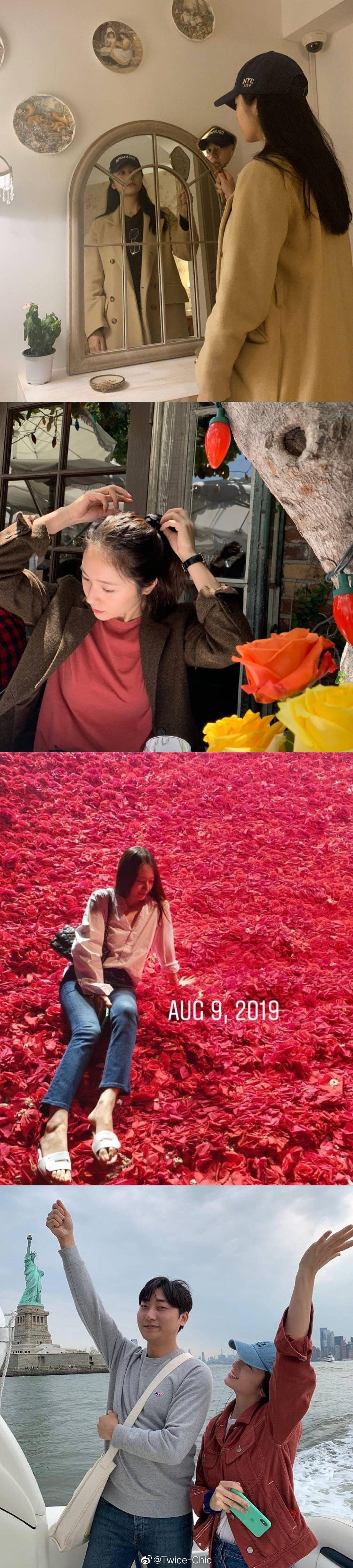 郑秀晶 | 清冷素美,慵懒猫系,独特气质水晶的2019四季穿搭回顾