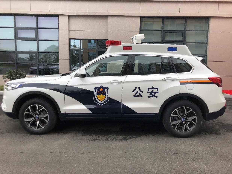 """帅呆了!汉腾汽车摇身一变成智能警车,安全实力超""""爆表""""!"""