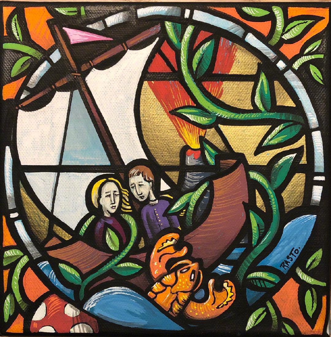 街头艺术家 Jerome Rasto 绘画作品  |  jeromerasto.com