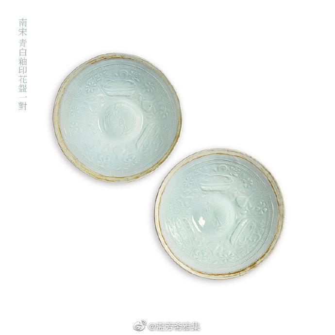 青白釉,瓷器的一种,俗称影青釉
