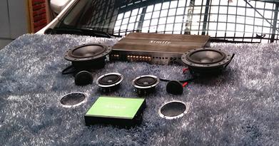 大众朗行音响改装怎么改装?丨丹拿喇叭——南京中原汽车音响改装