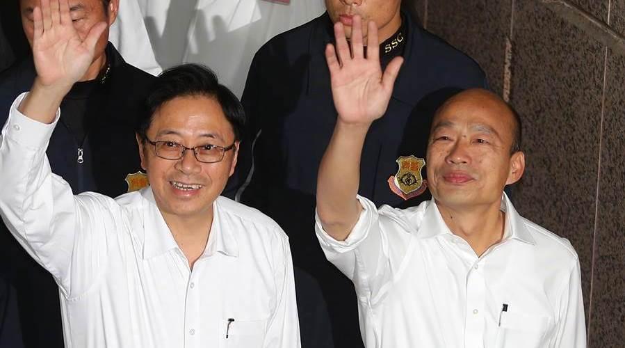 登记首日:2组台湾地区领导人、137名民代参选人登记
