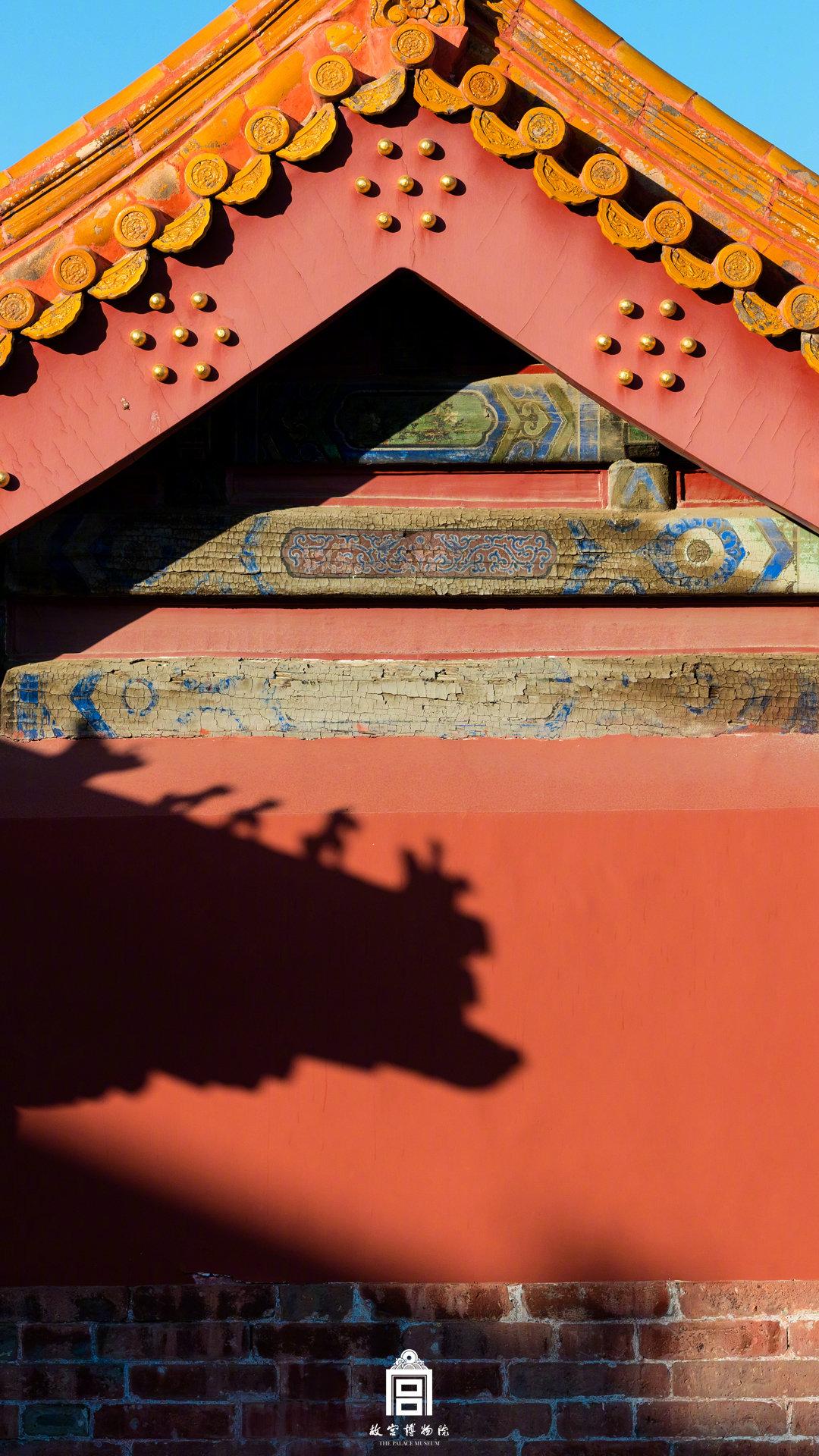 喜欢故宫的深秋,秋色斑斓的!图片来自故宫博物院官微 侵权删除