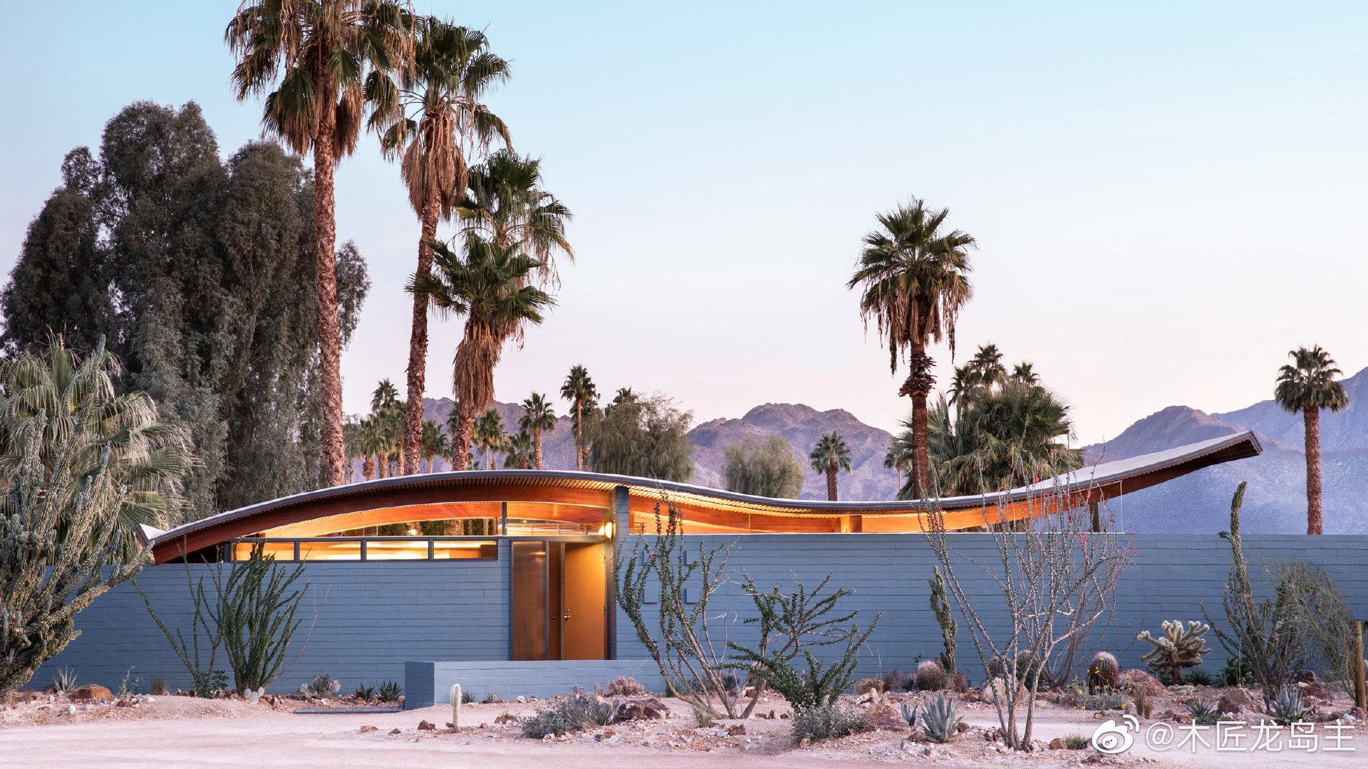 斯塔纳尔建筑师事务所修复加州的现代主义波浪屋洛杉矶实践斯塔纳尔
