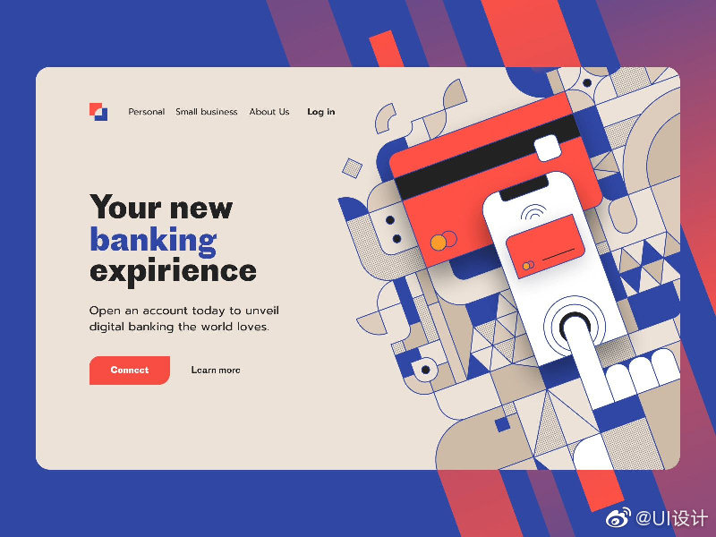 财务理财银行网页界面设计灵感