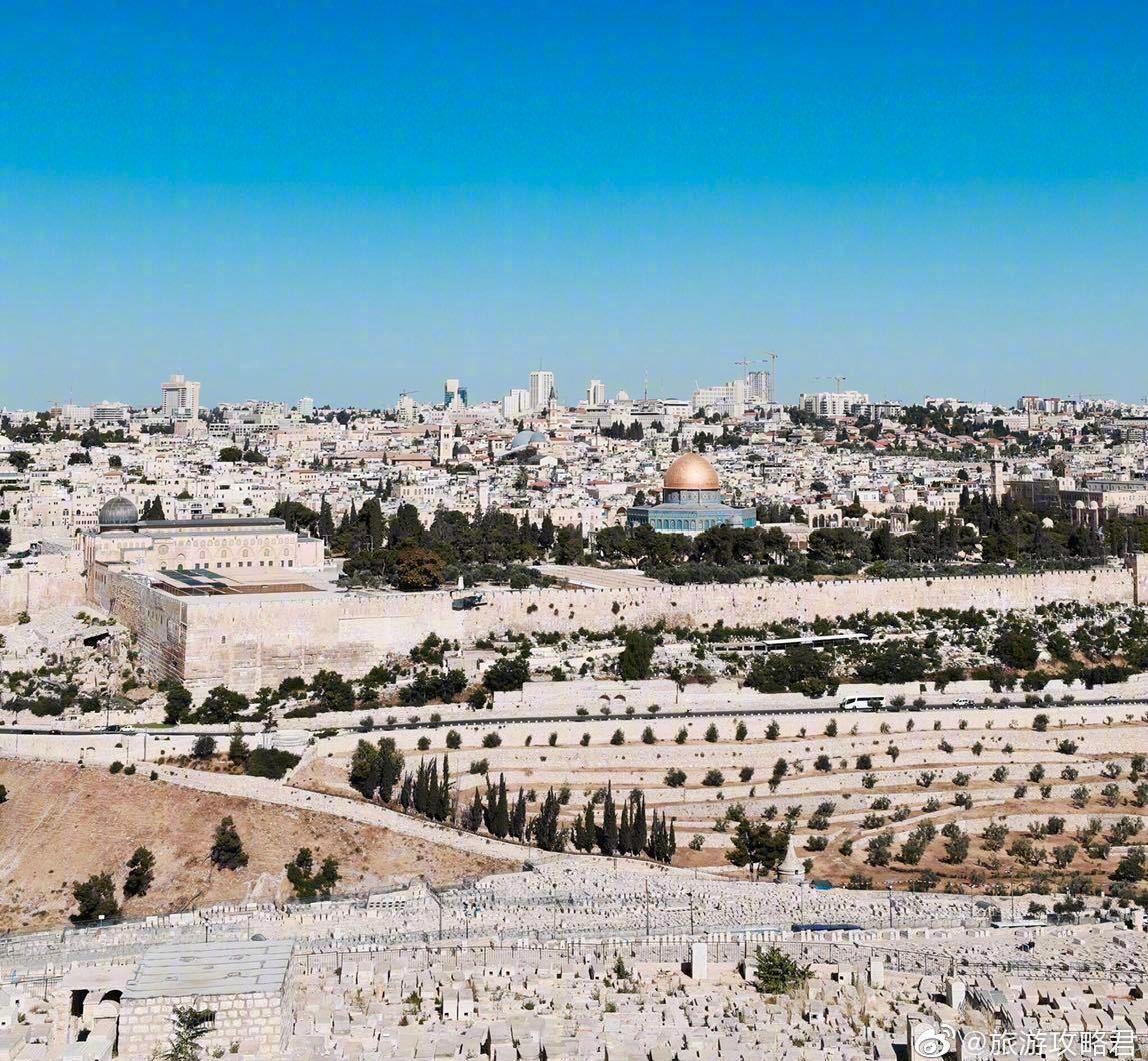 橄榄山丨耶路撒冷的宗教圣地,耶稣曾经布道的地方,周围遍植橄榄木