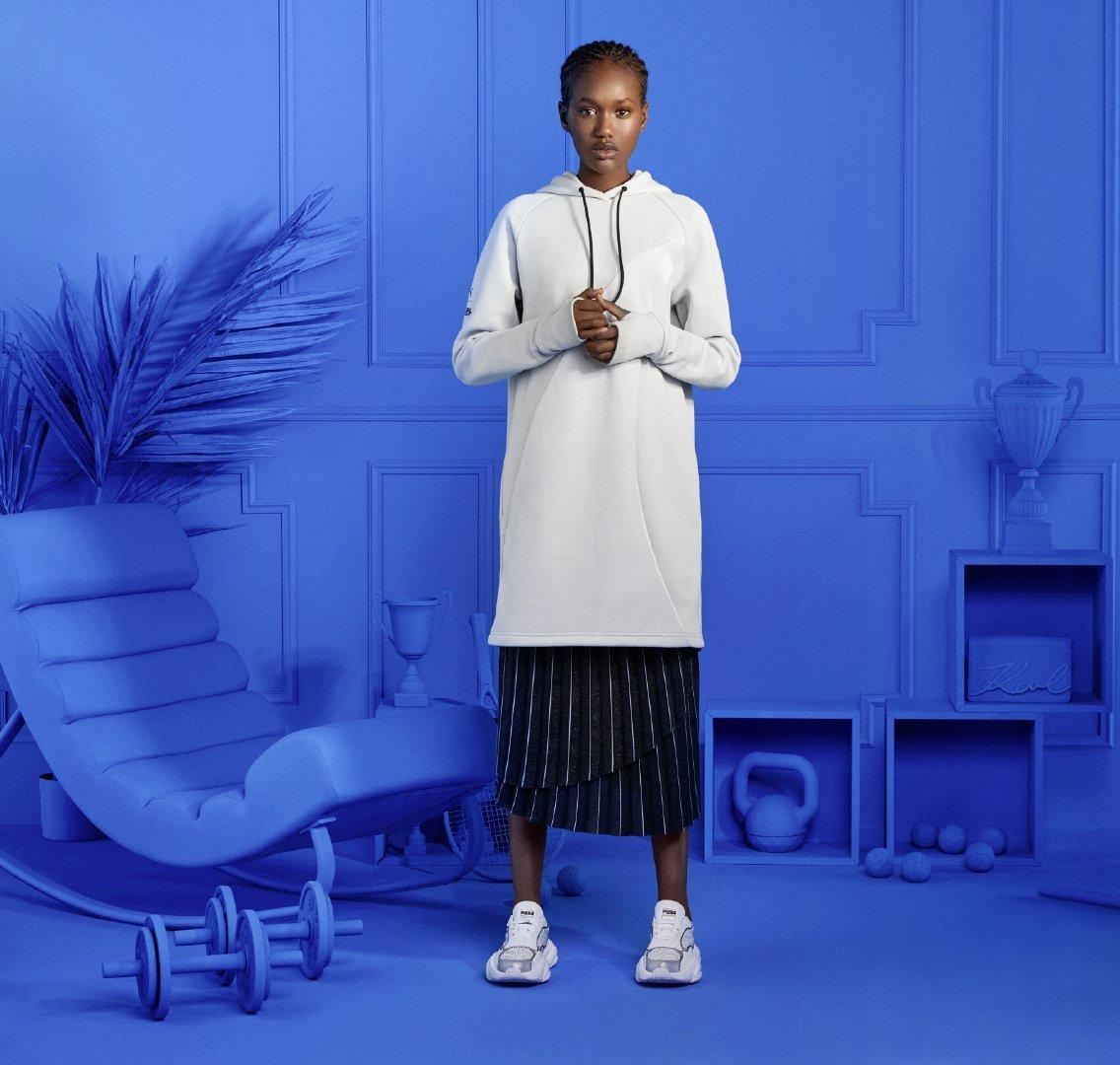PUMA x KARL LAGERFELD 最新联名鞋服系列发布 。 -  PUMA