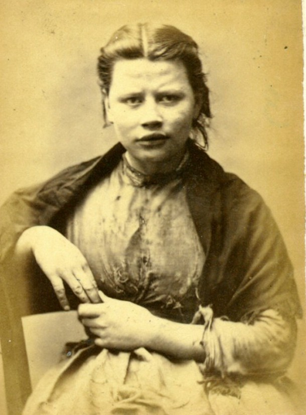 18岁女孩偷鞋  被关了三个月 十九世纪的英国犯人