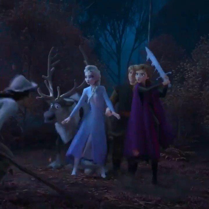 《冰雪奇缘2》发布新30s预告。影片11月22日北美上映