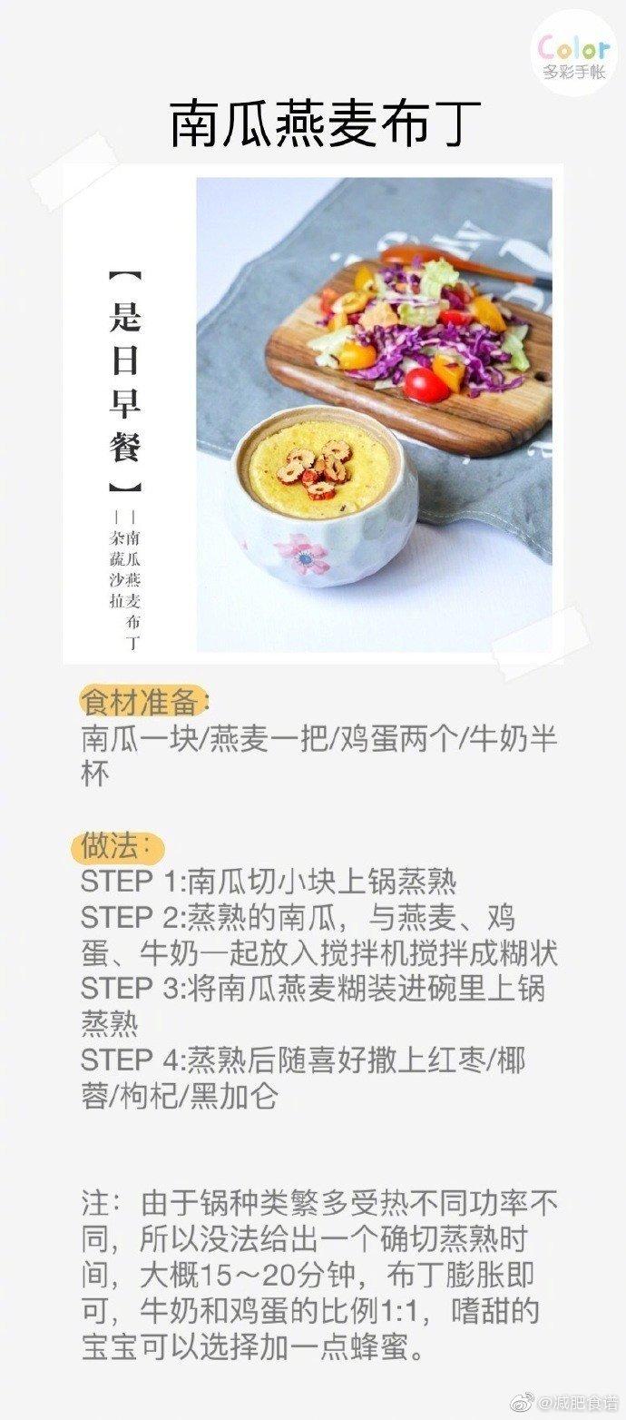 九款高颜值的美味减肥食谱早餐