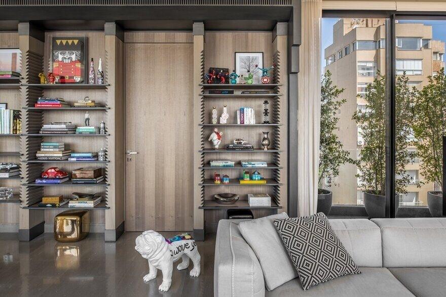 由小工作室改造的黎巴嫩200㎡顶层公寓 | Askdeco汕头室内设计/汕头