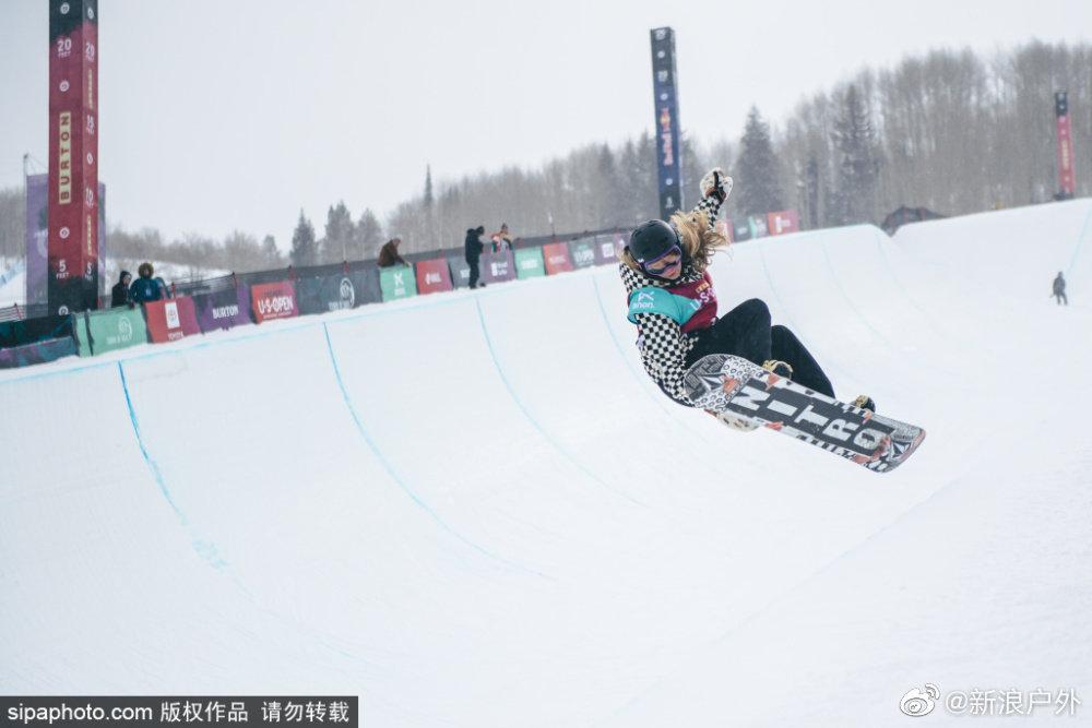 2020年美国伯顿滑雪公开赛精彩瞬间