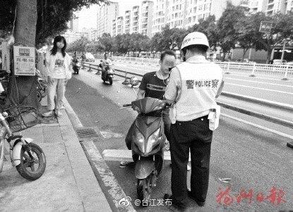 台江严查非机动车交通违法行为