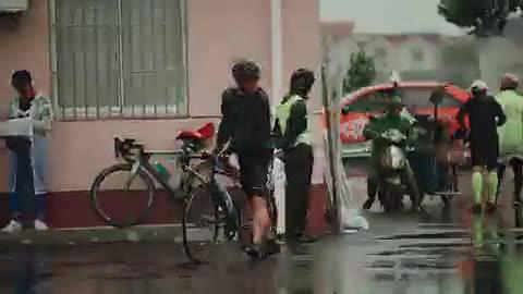 比心祖国,骑迹乡村,2019环浦东骑游大会风雨同行