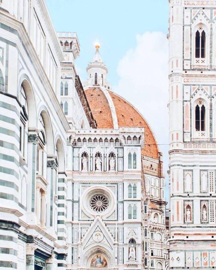 佛罗伦萨小镇,花的城市