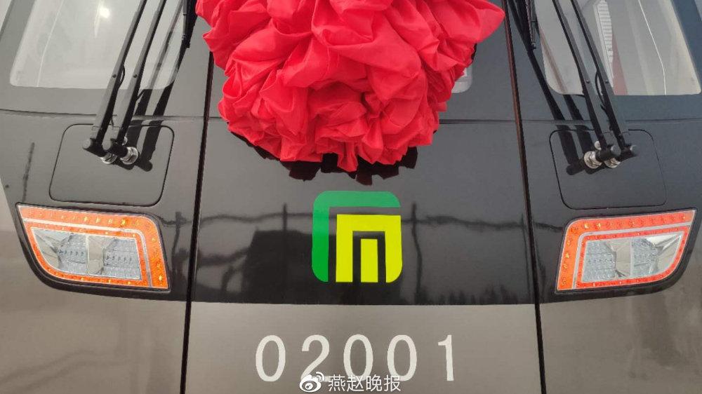 石家庄地铁石家庄造  地铁2号线首列车正式出厂