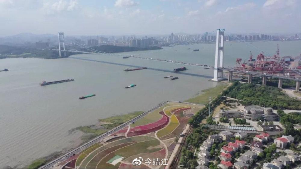 靖江腾退6.9公里长江岸线为生态