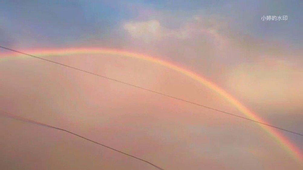 网友@coward小婷 剪辑的阜阳的天空,真的很美!