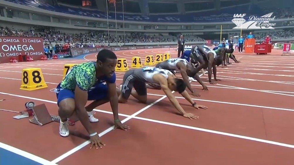 2019国际田联钻石联赛——通往终点之路系列男子100米  极致速度的