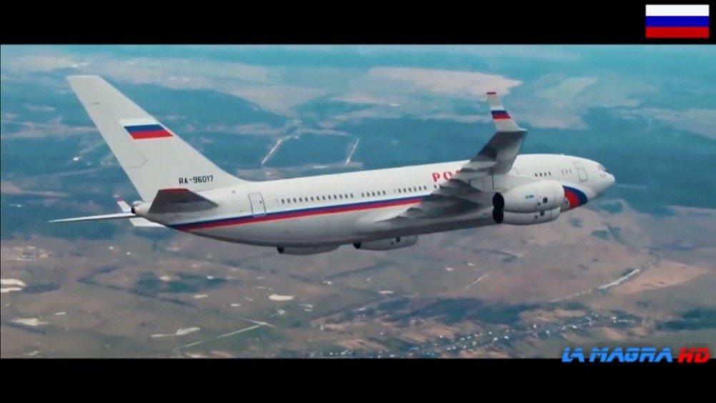 """俄罗斯的""""空军一号"""":伊尔-96-300PU总统专机"""