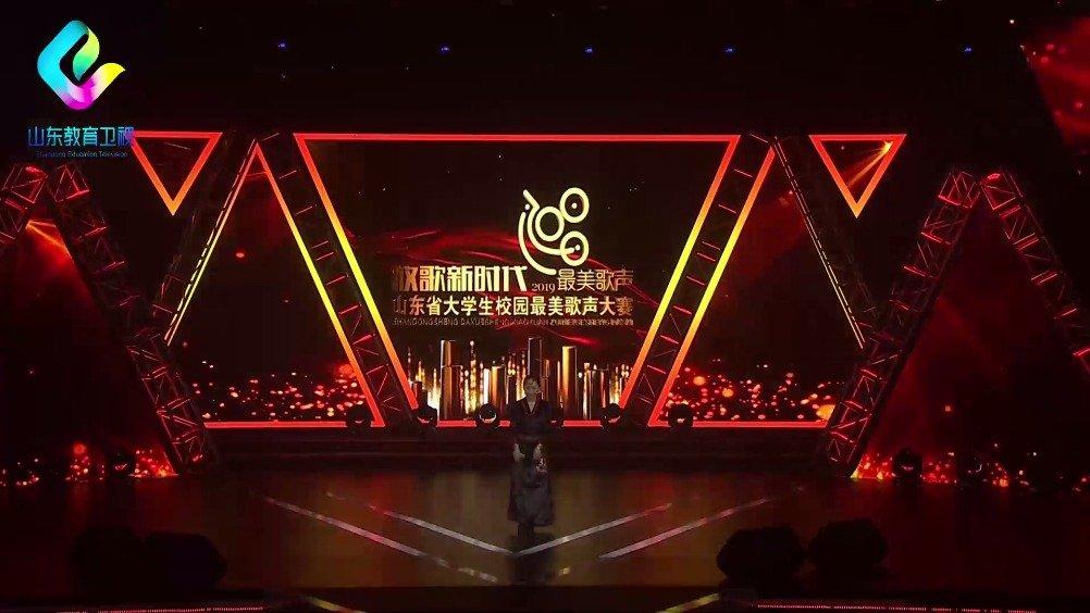 青岛理工大学的次旦央吉演唱《我的喜马拉雅》