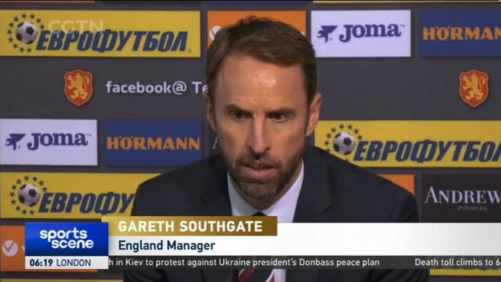 欧预赛-英格兰客场大胜保加利亚 索斯盖特赛后谈种族歧视