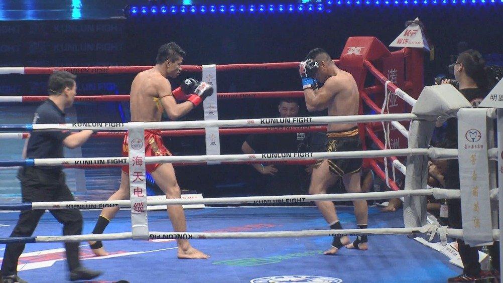 """经典回顾:泰国""""神鹰""""的高光之战,只差一记KO"""