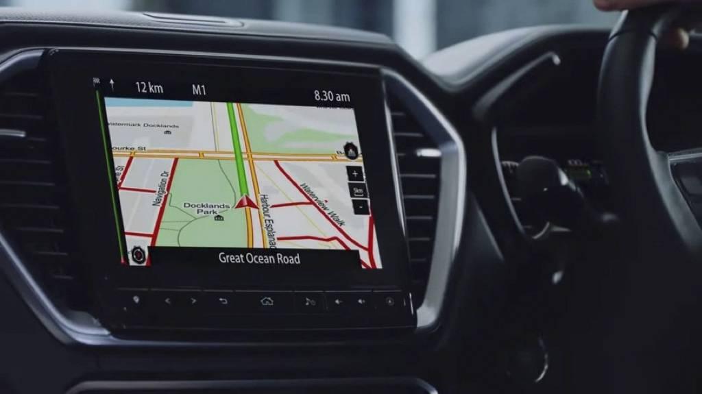 外观凶悍,科技配置丰富,全新一代D-MAX官图发布