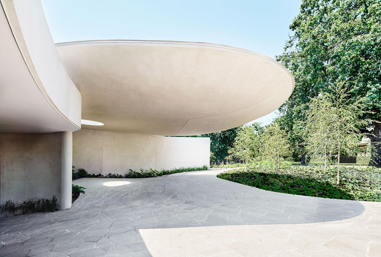 墨尔本 Canopy House|有机建筑形式在体量和失重间实现了微妙的平衡