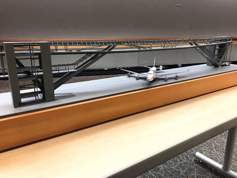 好玩,西雅图-塔科马国际机场即将建成一座大型高架走廊