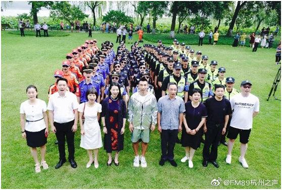 赵文卓受聘为杭州西湖世界遗产守护官,和大家一起守护西湖