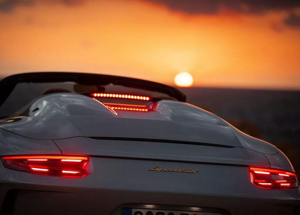 没有车顶的911R