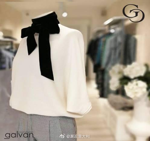 Galvan品牌生产男女款式的羊绒衫