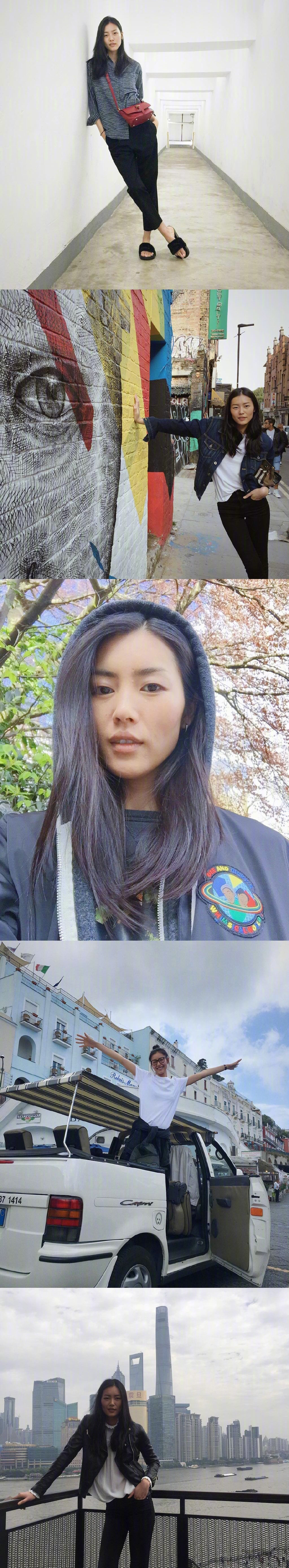 刘雯私服 大表姐真的是行走的衣架,还有超爱她治愈系的笑容