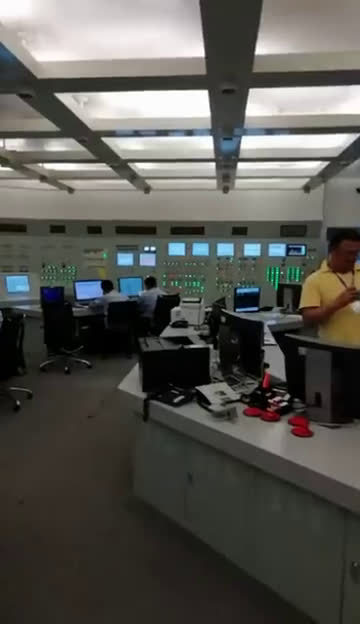 实地探访浙江海盐秦山核电站主控室