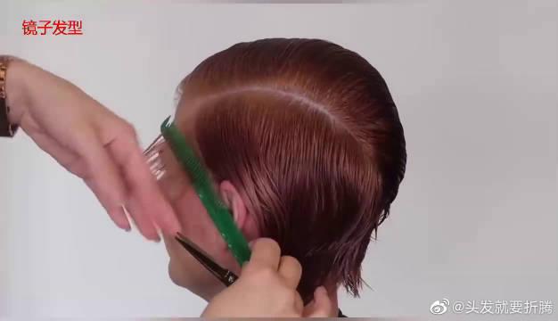 女性适合剪不连接短发吗?模特先剪给你看