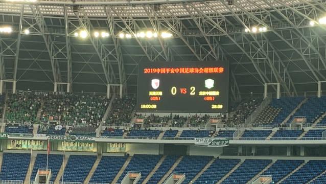 2019中国平安中国足球协会超级联赛!现在比分天津天海0