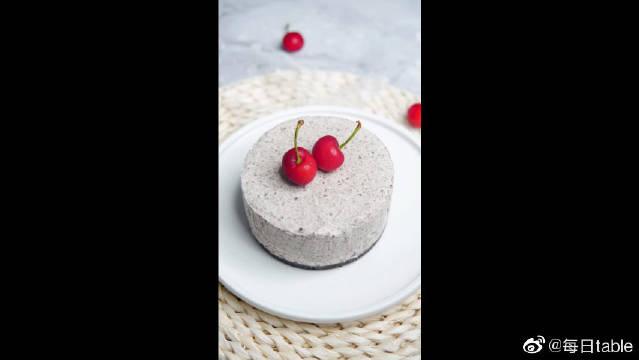 奥利奥冻芝士蛋糕,这口感真的超赞!
