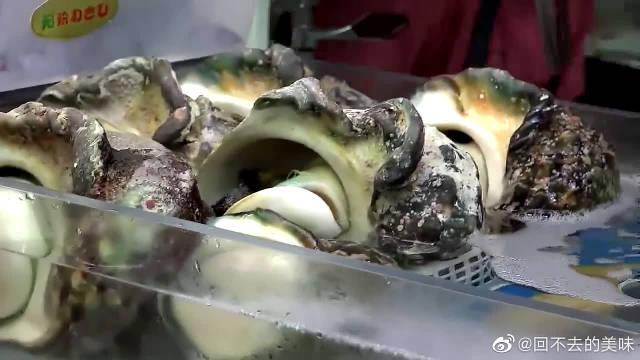 日本美食,冲绳的海鲜 大海螺, 日本的街头食品