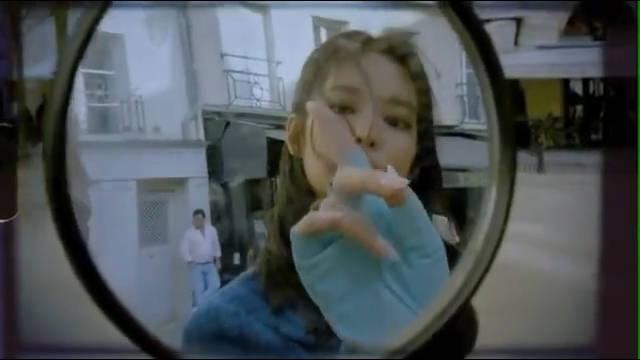 black pink成员Jennie韩国杂志视频花絮,感性复古氛围爆发