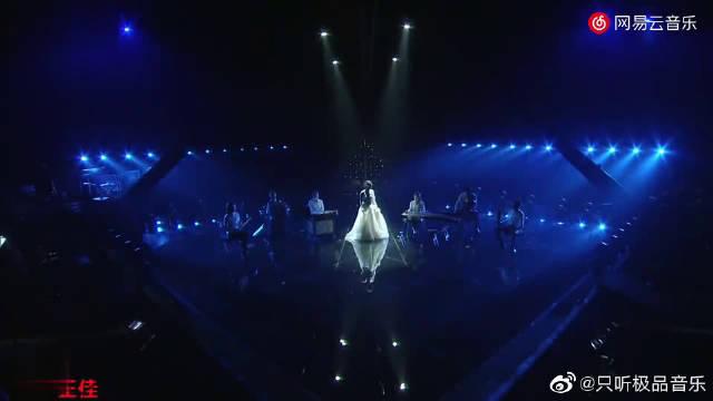 龚琳娜现场翻唱《隐形的翅膀》,曲调行云流水,给张韶涵唱蒙了