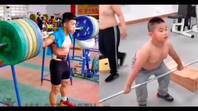 举重队孩子们的日常!