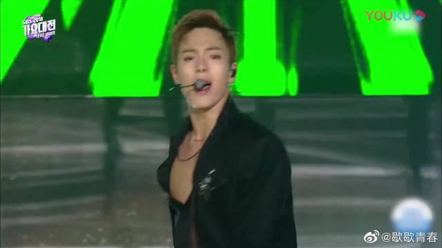 韩国男团合作呈现2PM金曲,就这样安静地看帅哥们的舞台!享受啊!